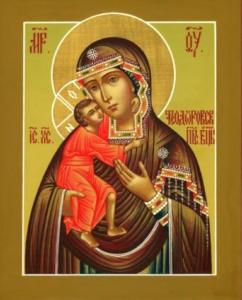 Икона Божией Матери {amp}quot;Феодоровская{amp}quot;
