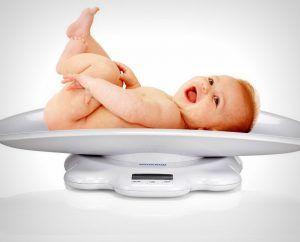 вес в первый месяц