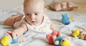 развитие малыша в 6 месяцев