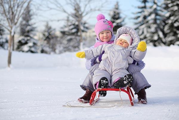 Как одевать детей старше года на зимой