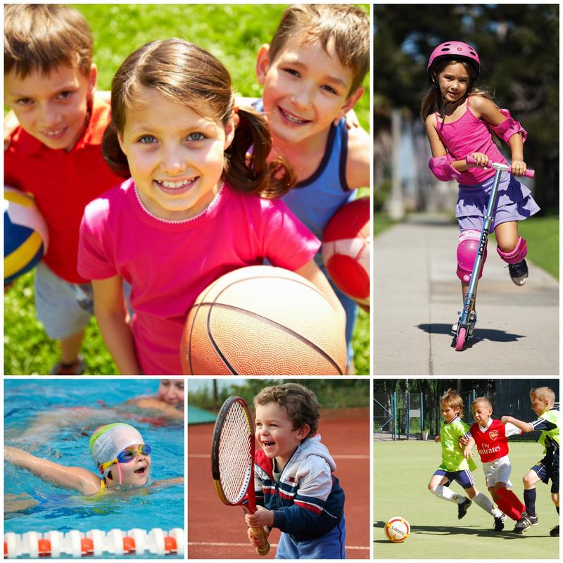 Картинки спорт малыши